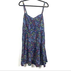 3/$25 Old Navy Blue Floral Dress